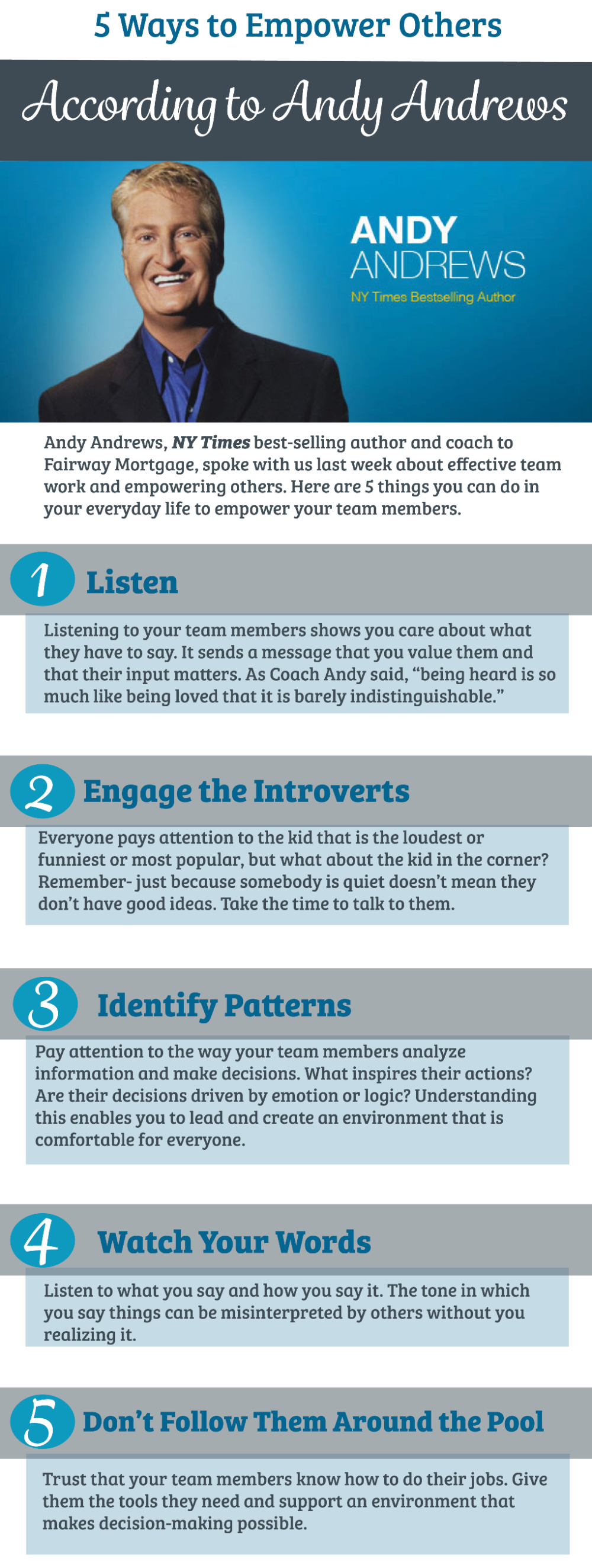 5 Ways to Empower Others